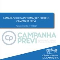 Câmara solicita informações sobre o Campanha Previ