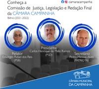 Conheça a Comissão de Justiça, Legislação e Redação Final