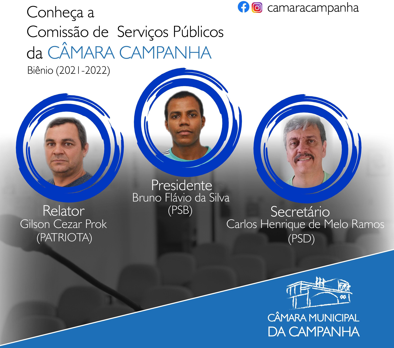 Conheça a  de Comissão de Serviços Públicos