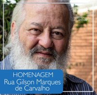Homenagem: Gilson de Carvalho, Cidadão Brasileiro