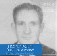Homenagem: Rua Juca Ximenes