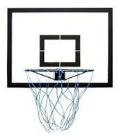 Indicação - Aquisição de traves e aros para basquete, a serem instalados em quadra poliesportiva do Município, a critério do Executivo.