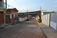 Indicação - Em caráter de urgência, correção do calçamento da Rua Martins de Andrade, do cruzamento com a Rua Monsenhor Paulo até o final.