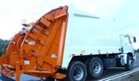 Indicação- Empenhar esforços juntos ás esferas estadual e federal, a fim de adquirir  para o Município um caminhão  de lixo