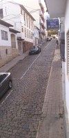 Indicação pede o Recuperação e nivelamento da pavimentação das Ruas  Comendador Paula Ferreira e Leonel de Rezende