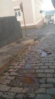 Indicação -  Providências urgentes quanto a reparos na rede coletora de esgotamento sanitário da Rua Comendador Paula Ferreira, na altura do n° 81.