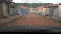 Indicação solicita a providenciar a recomposição da pavimentação com bloquetes da Rua Geraldo Cesarino Filho
