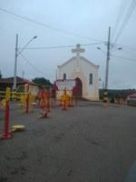 Indicação Solicita Construir uma quadra poliesportiva no bairro Santa Cruz