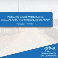 Indicação  sugere à Prefeitura a instalação de redutores de velocidade próximo ao Espaço Cidadão