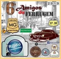 """Moção de Aplauso aos idealizadores do evento """"6° Amigos da Ferrugem"""", realizado nos dias 27 e 28 de julho, na Praça Dom Ferrão."""