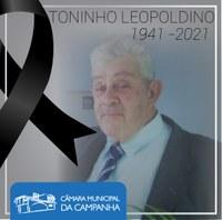 Nota de Pesar e Solidariedade: Toninho Leopoldino