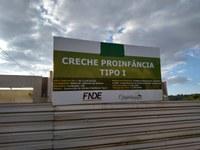 Requerimento pede informação sobre a obra do Programa ''Pró Infância'' no  Bairro Jefferson de Oliveira