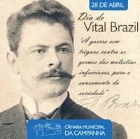 Viva Vital Brazil! Viva a Ciência!